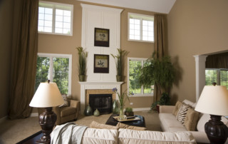 Family Room of Beechen and Dill Cascade Model Home