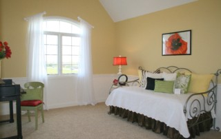 Guest Room in Beechen and Dill Cascade Model Home