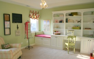 Hobby Room in Beechen and Dill Cascade Model Home