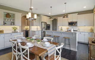 Dining Area in Beechen and Dill Home in Orland Park