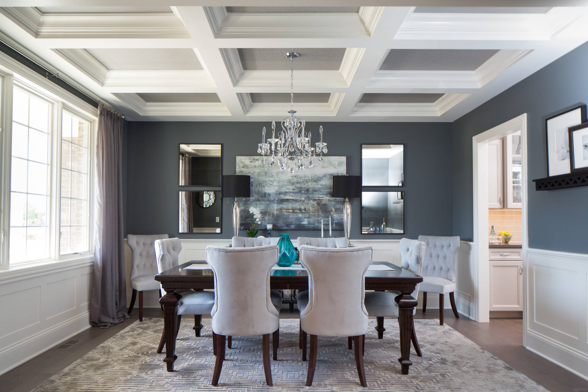 Dining Room in Beechen and Dill Silverton Model Home