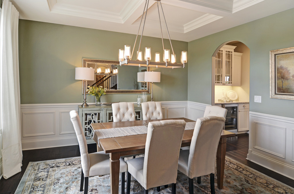 Beechen and Dill Telluride Model Home Dining Room