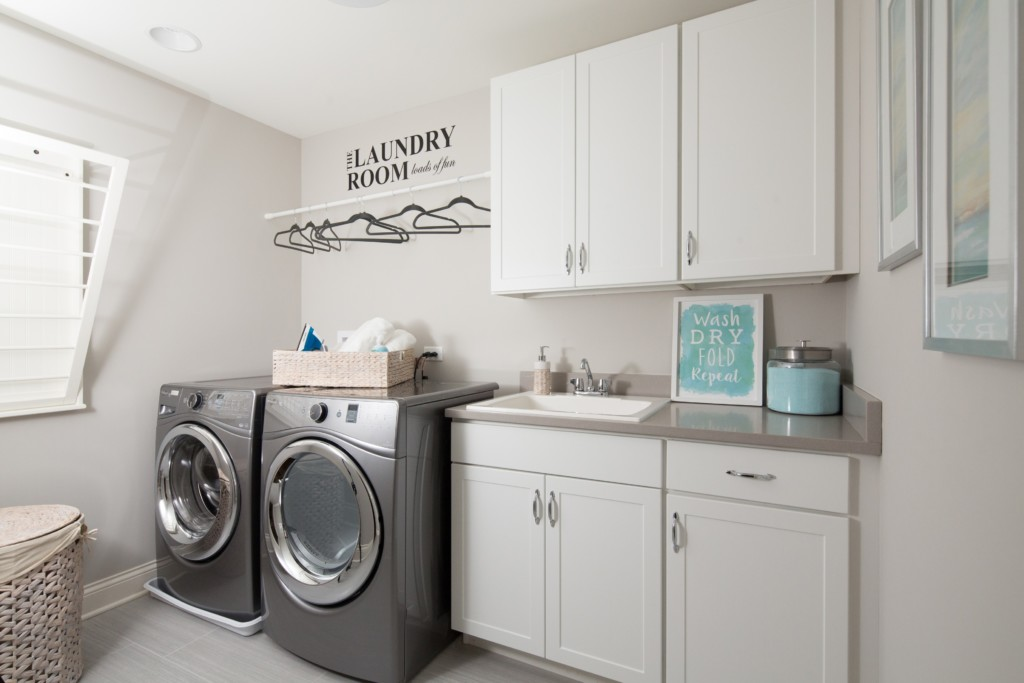 Laundry Room in Orland Park IL Home for Sale
