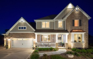 Exterior of Greystone Ridge in Orland Park IL