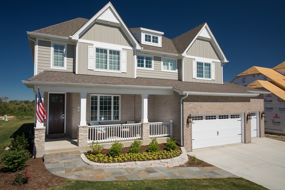Exterior of Beechen and Dill Hampton Model Home
