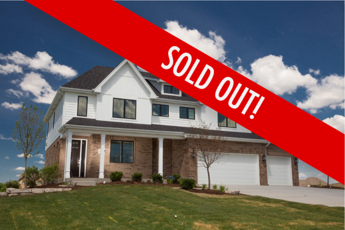 Cedar Brooke in Homer Glen is Sold Out