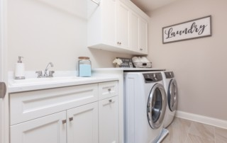 Laundry Room in Beechen and Dill Breckenridge Model Home