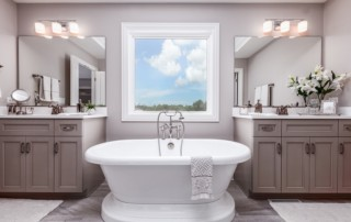 Beechen and Dill Bathroom in Custom Home