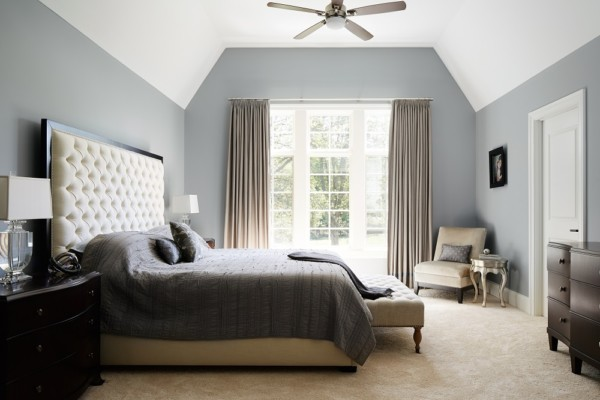 Bedroom in Home for Sale in Chicago Suburbs