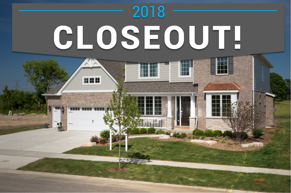 Grand Closeout at Greystone Ridge in Orland Park