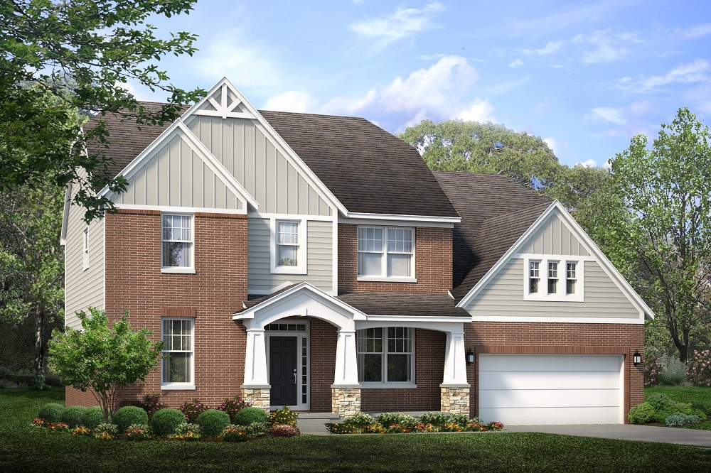 Beechen and Dill Tellruide Model Home Exterior Shot