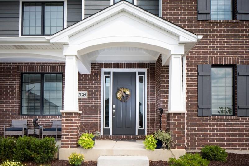 Front Door of Telluride Model Home Beechen and Dill