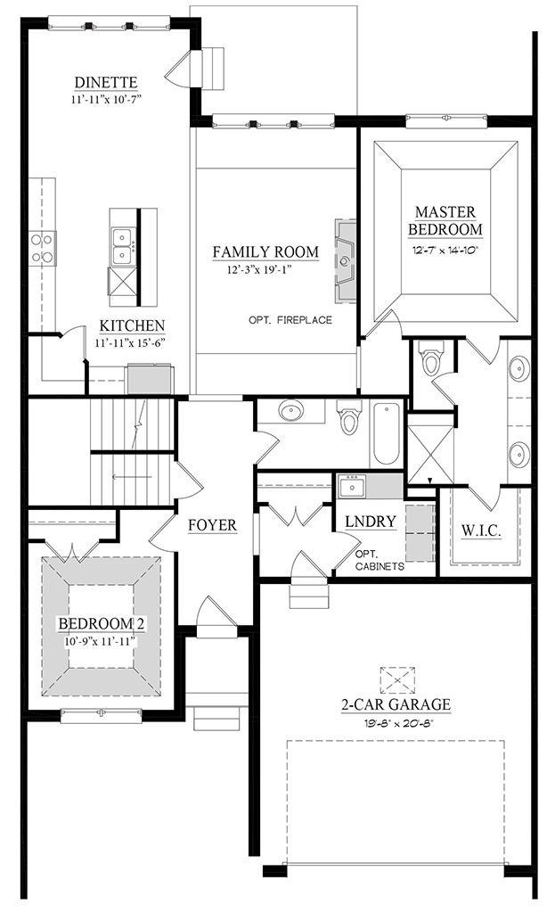 Sienna A - Floorplan