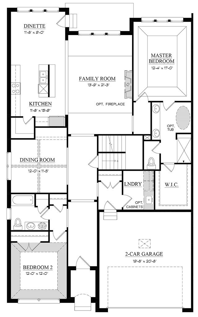 Sorrento A - Floorplan