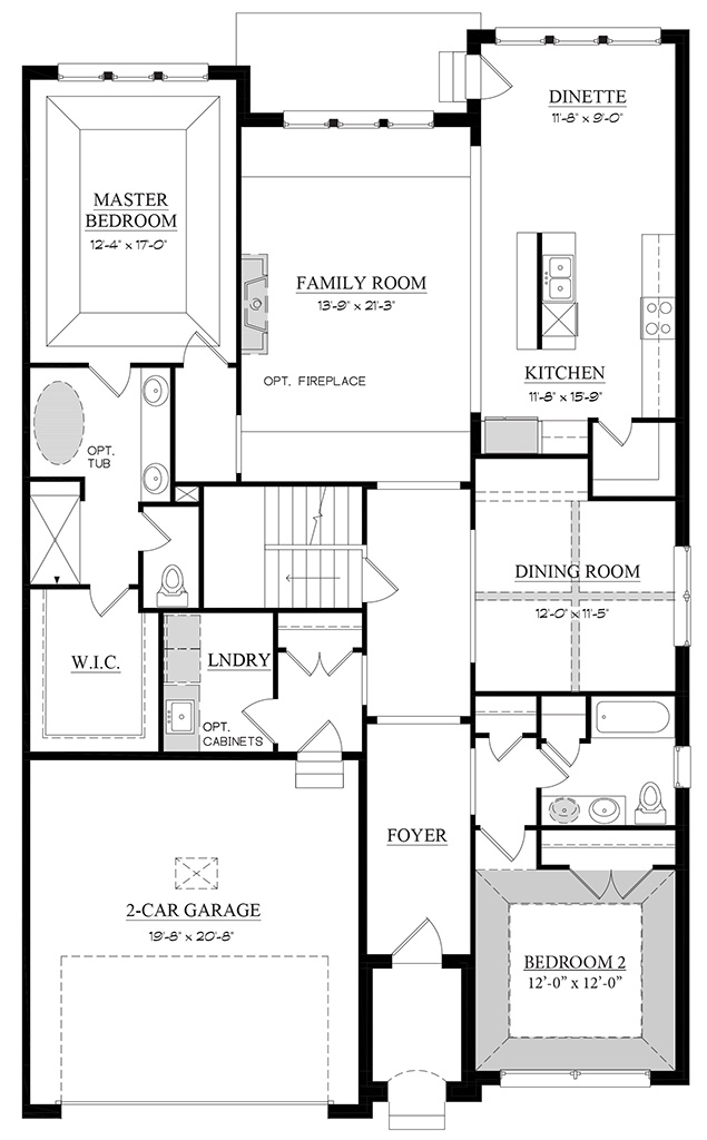 Sorrento B - Floorplan